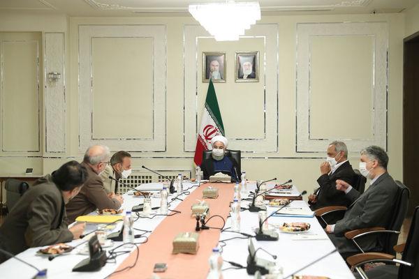 روحانی: عملیات واکسیناسیون با حل مشکل واردات سرعت می گیرد