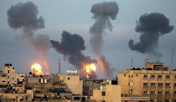 هواپیماهای رژیم صهیونیستی غزه را ۸۰ بار بمباران کردند